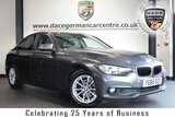 """USED 2015 65 BMW 3 SERIES 2.0 320D ED PLUS 4DR AUTO 161 BHP full bmw service history FINISHED IN STUNNING MINERAL METALLIC GREY WITH FULL LEATHER INTERIOR + FULL BMW SERVICE HISTORY + SATELLITE NAVIGATION + BLUETOOTH + DAB RADIO + HEATED SEATS + CRUISE CONTROL + RAIN SENSORS + AUTO AIR CON + PARKING SENSORS + 16"""" ALLOY WHEELS"""