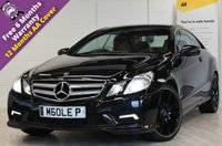 USED 2009 MERCEDES-BENZ E CLASS 3.0 E350 CDI BLUEEFFICIENCY SPORT 2d AUTO 231 BHP ***RESERVED***