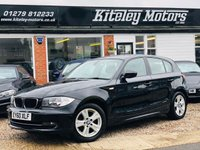 USED 2010 60 BMW 1 SERIES 118d SE 5 Door 1 Owner From New