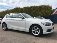 USED 2016 66 BMW 1 SERIES 1.5 116D ED PLUS 3d WITH SAT NAV AND ONLY ONE OWNER FROM NEW NO DEPOSIT  PCP/HP FINANCE ARRANGED, APPLY HERE NOW