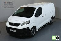 USED 2017 17 PEUGEOT EXPERT 2.0 BLUE HDI PROFESSIONAL LWB 120 BHP AIR CON MANUFACTURER WARRANTY UNTIL 23/07/2020