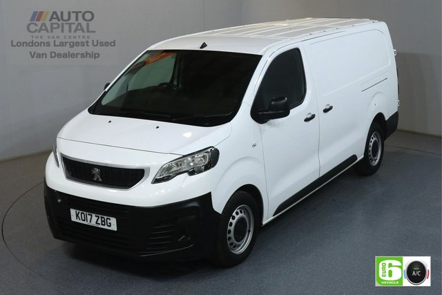 2017 17 PEUGEOT EXPERT 2.0 BLUE HDI PROFESSIONAL LWB 120 BHP AIR CON MANUFACTURER WARRANTY UNTIL 23/07/2020
