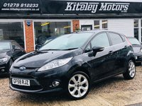 USED 2008 58 FORD FIESTA 1.4 TITANIUM 5 DOOR