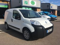 USED 2015 65 CITROEN NEMO 1.2 590 ENTERPRISE HDI 1d 74 BHP 61,000 MILES, A/C, BLUETOOTH, 6 MONTHS WARRANTY & FINANCE ARRANGED. A/C, E/W, Bluetooth, parking sensors, Radio, driver's airbag, factory fitted bulk head, Side loading door, Ply-lined, Very Good Condition, 1 Owner, remote Central Locking, Drivers Airbag, CD Player/FM Radio, Service history print confirming 3 Services have been carried out, Side Loading Door, Wood Lined, Barn Rear Doors, spare key, finance arranged on site & 6 months premium Autoguard warranty.