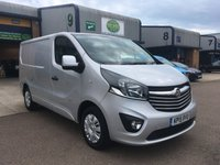 USED 2015 15 VAUXHALL VIVARO 1.6 2700 L1H1 CDTI P/V SPORTIVE 1d 114 BHP FSH, A/C, P/SENSORS, BLUETOOTH, 6 MONTHS WARRANTY & FINANCE ARRANGED. Full Vauxhall Service History, only 35,000 Miles, A/C, E/W, cruise control, Bluetooth, media connectivity, DAB Radio, rear parking sensors, Drivers airbag, Factory fitted bulk head, Side loading door, Very Good Condition, 1 Owner, remote Central Locking, Drivers Airbag, colour coded, FM Radio, Steering Column Radio Control, Side Loading Door, Barn Rear Doors, 6 months premium Autoguard & finance arranged