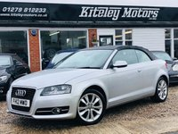 USED 2012 12 AUDI A3 1.2 TFSI SPORT CABRIOLET