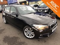 2016 BMW 1 SERIES 1.5L 118I SPORT 5d AUTO 134 BHP £SOLD