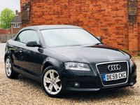 USED 2009 59 AUDI A3 1.8 TFSI SPORT CABRIOLET