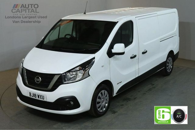 2018 18 NISSAN NV300 1.6 DCI ACENTA L2H1 LWB 120 BHP EURO 6 ENGINE  MANUFACTURER WARRANTY UNTIL 30/03/2021