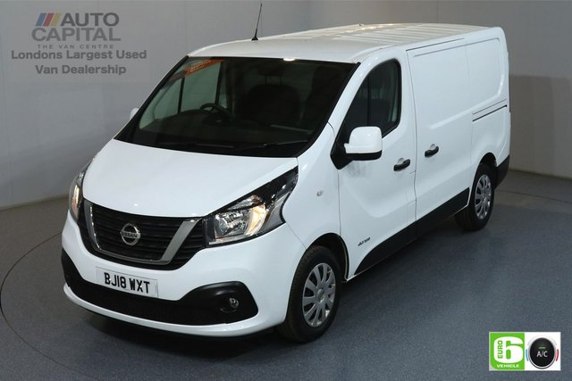 2018 18 NISSAN NV300 1.6 DCI ACENTA L1H1 SWB 124 BHP EURO 6 AIR CON MANUFACTURER WARRANTY UNTIL 30/03/2021