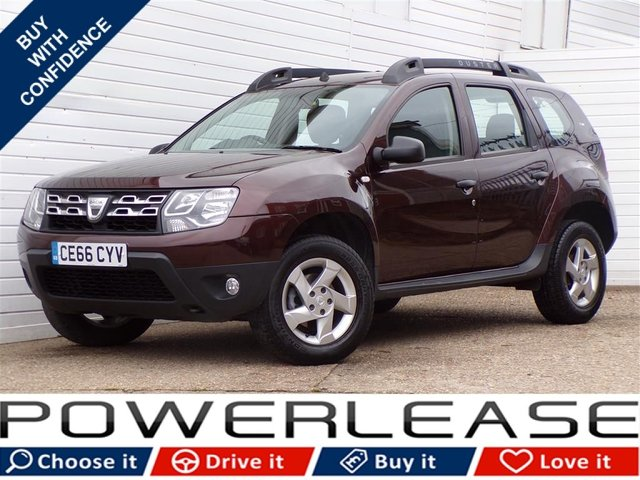 USED 2016 66 DACIA DUSTER 1.5 AMBIANCE PRIME DCI 5d 109 BHP PARKING SENSORS 30 POUND TAX