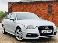 USED 2013 13 AUDI A3 1.4 TFSI S LINE HIGH SPECIFICATION