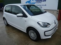 USED 2016 16 VOLKSWAGEN UP 1.0 Move up! 5dr £0 DEPOSIT FINANCE AVAILABLE!