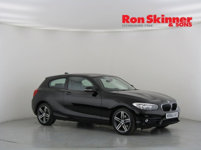 View our 2017 66 BMW 1 SERIES 1.5 116D SPORT 3d 114 BHP