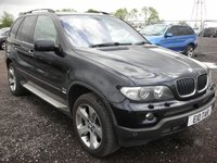 USED 2005 BMW X5 3.0 D SPORT EXCLUSIVE 5d AUTO 215 BHP Panoramic roof - Sat nav - Xenons - Parking sensors