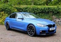 2013 BMW 3 SERIES 2.0 320D M SPORT 4d 181 BHP £13450.00