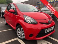 USED 2012 62 TOYOTA AYGO 1.0 VVT-I PLUS MM 5d AUTO 67 BHP £20 A YEAR ROAD TAX + AUTOMATIC