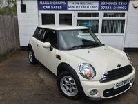 2012 MINI HATCH COOPER 1.6 COOPER AUTO  £7495.00