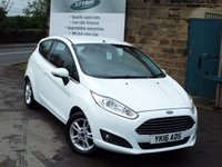 USED 2016 16 FORD FIESTA 1.5 ZETEC TDCI 3d 74 BHP Zero Rate Road Tax Service History