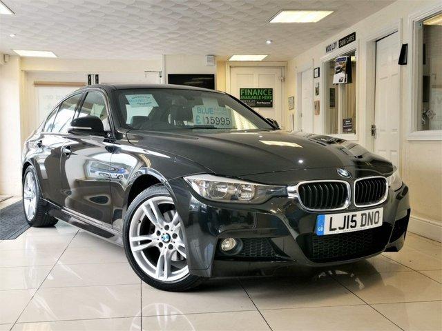 2015 15 BMW 3 SERIES 2.0 320D M SPORT 4d AUTO 181 BHP