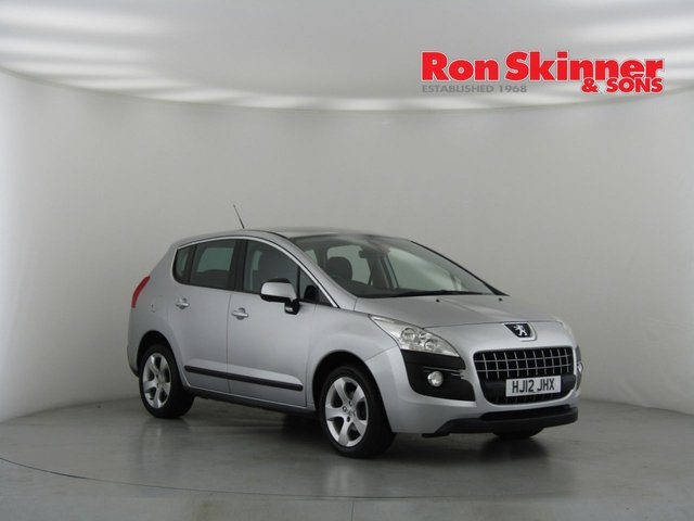 View our 2012 PEUGEOT 3008 1.6 ACTIVE HDI FAP 5d 112 BHP