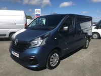 2015 RENAULT TRAFIC SL27 BUSINESS PLUS ENERGY 1.6 DCi 120 L1 H1 SWB £9995.00