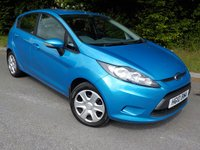 2010 FORD FIESTA 1.2 EDGE 5d 81 BHP £SOLD