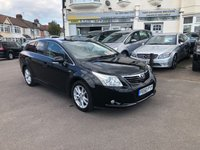 USED 2010 60 TOYOTA AVENSIS 2.2 D-CAT TR 5dr
