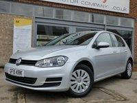 USED 2015 15 VOLKSWAGEN GOLF 1.6 S TDI BLUEMOTION TECHNOLOGY 5d 103 BHP FREE ROAD TAX LOW MILEAGE EXAMPLE WITH SERVICE HISTORY