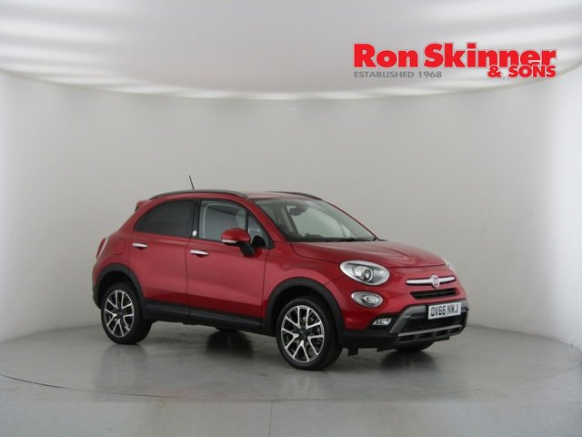 View our 2016 66 FIAT 500X 2.0 MULTIJET OPENING EDITION 5d AUTO 140 BHP