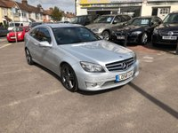 USED 2009 58 MERCEDES-BENZ CLC CLASS 2.1 CLC200 CDI Sport 2dr TWO TONE LEATHER