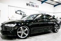 USED 2015 15 AUDI A6 2.0 TDI ULTRA BLACK EDITION 4d 188 BHP