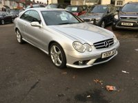 USED 2009 09 MERCEDES-BENZ CLK 2.1 CLK220 CDI Sport 2dr FULL LEATHER