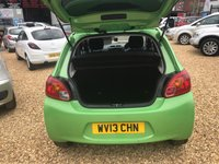 USED 2013 13 MITSUBISHI MIRAGE 1.2 3 5d 79 BHP IDEAL FOR A FIRST TIME DRIVER: