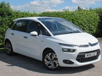 USED 2014 14 CITROEN C4 PICASSO 1.6 E-HDI AIRDREAM EXCLUSIVE 5d * ONE OWNER FROM NEW * SATELLITE NAVIGATION * FULL SERVICE HISTORY *