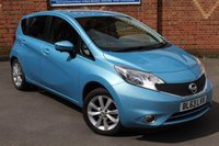 USED 2014 63 NISSAN NOTE 1.2 ACENTA PREMIUM SAFETY DIG-S 5d AUTO 98 BHP * SAT NAV * REAR CAMERA *