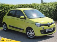 USED 2014 64 RENAULT TWINGO 1.0 DYNAMIQUE SCE S/S 5d ALLOY WHEELS, SPORTY DESIGN, ECONOMICAL