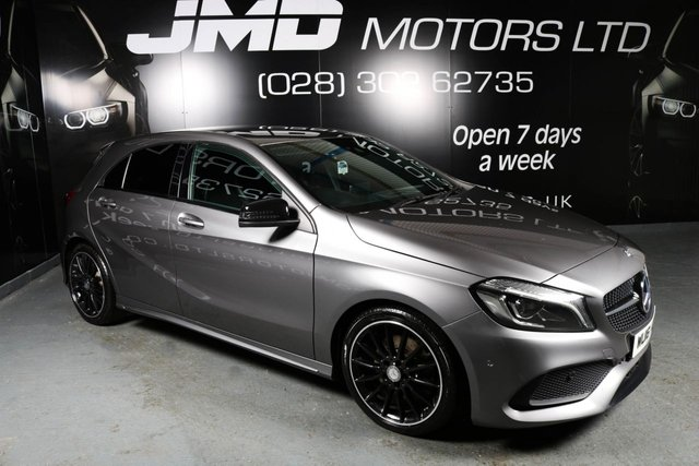 2016 16 MERCEDES-BENZ A CLASS A220D AMG LINE PREMIUM AUTO  NIGHT EDITION STYLE 174 BHP (FINANCE AND WARRANTY)