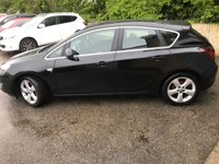 USED 2010 10 VAUXHALL ASTRA 1.4 SRI 5d 138 BHP 1 OWNER FROM NEW, ONLY 51K WITH 4 SERVICES,
