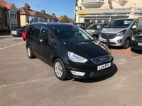 USED 2015 15 FORD GALAXY 2.0 TDCi Zetec Powershift 5dr 1 OWNER/TOTAL HISTORY