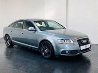 USED 2011 11 AUDI A6 2.0 TDI S LINE SPECIAL EDITION 4d 168 BHP LEATHER + SAT NAV + HISTORY + IMMACULATE ALLOYS + FINANCE