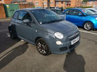 USED 2014 64 FIAT 500 1.2 S 3d 69 BHP ONLY 9066 MILES FROM NEW, GREAT SPECIFICATION WITH AIR CONDITIONING, (TFT SCREEN DISPLAY) ABARTH DIGITAL DISPLAY, ALLOY WHEELS, MEDIA CONNECTIVITY , BLUETOOTH AND  AUXILIARY INPUT, TRACTION CONTROL AND RADIO CD, CHEAP TO RUN , LOW CO2 EMISSIONS, £30 ROAD TAX AND START/STOP, MEETS ALL LARGE CITY EMISSION STANDARDS
