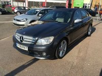 USED 2008 08 MERCEDES-BENZ C CLASS 2.1 C220 CDI Sport 4dr FULL LEATHER