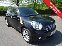 USED 2012 12 MINI COUNTRYMAN 2.0 COOPER D ALL4 5d AUTO 110 BHP