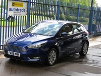 2016 FORD FOCUS 1.0 TITANIUM 5d Park assist Bluetooth Front & rear park £10000.00