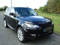 "USED 2015 64 LAND ROVER RANGE ROVER SPORT 3.0 SDV6 HSE DYNAMIC 5d AUTO 288 BHP PAN ROOF, SAT NAV, 22"" ALLOYS"