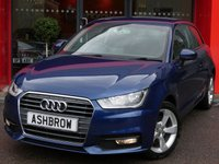 USED 2015 65 AUDI A1 1.4 TFSI SPORT 3d 125 S/S £1385 OF OPTIONAL EXTRAS, UPGRADE COMFORT PACK INCLUDING REAR PARKING SENSORS CRUISE CONTROL AUTO DIMMING REAR VIEW MIRROR AUTO HEADLIGHTS WITH HIGH BEAM ASSIST & WINDSCREEN SUN BAND, DAB RADIO, BLUETOOTH PHONE & MUSIC STREAMING, AUDI MUSIC INTERFACE (AMI), AUDI DRIVE SELECT, MANUAL 6 SPEED,  FRONT FOG LIGHTS, 16 INCH 5 SPOKE ALLOYS, GREY TORNADO CLOTH INTERIOR, SPORT SEATS, LEATHER MULTIFUNCTION STEERING WHEEL, AIR CONDITIONING, 1 OWNER FROM NEW, FULL AUDI SERVICE HISTORY, £30 ROAD TAX
