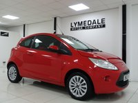 USED 2013 13 FORD KA 1.2 ZETEC 3d 69 BHP