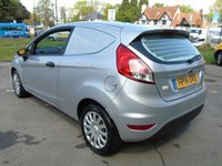 USED 2014 14 FORD FIESTA 1.5 BASE TDCI 74 BHP 3DR CAR DERIVED PANEL VAN +1 COMPANY OWNER+