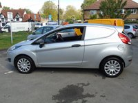 USED 2014 14 FORD FIESTA 1.5 BASE TDCI 74 BHP 3DR CAR DERIVED PANEL VAN +AIR-CON+1 COMPANY OWNER+